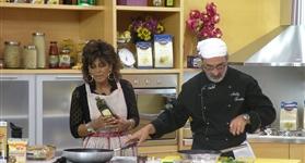 Granoro na cozinha: Andy Luotto e Marina Mastromauro