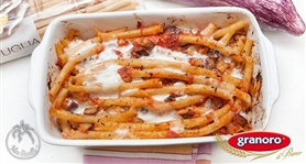 Zitoni al forno con melanzane e mozzarella - IdeeRicette.it