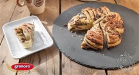 Treccia di pan brioche con la nutella - IdeeRicette.it