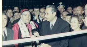 Inaugurazione del Pastificio con Aldo Moro